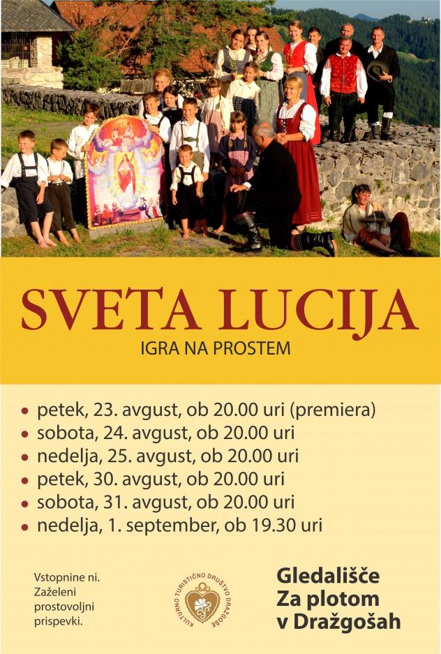letak, plakat Sveta Lucija 2019 (1)